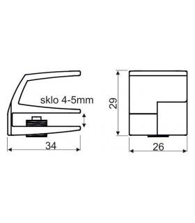 Vrták do dlaždic a skla 4x65mm