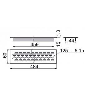 """hlavica TonaEx 117351T 11,0mm, 1/4"""""""