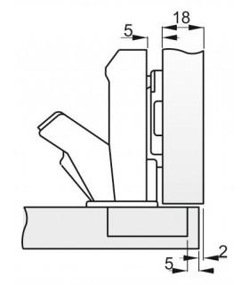 Sekac B0480B 150 mm, plochý, s chráničom PVC