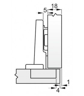 Sekac GPC 1711 150 mm, plochý, 17x11 mm