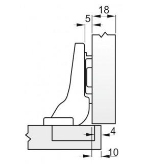 spona S301 10-016 mm, na hadicu, Inox
