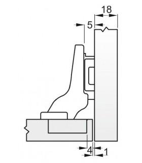 spona S301 20-0,32 mm, na hadicu, Inox