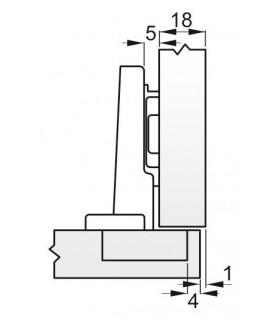 spona S301 30-045 mm, na hadicu, Inox