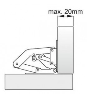 spona S301 40-060 mm, na hadicu , Inox