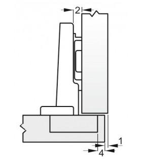 Uholnik DY-5028B • 600 mm, Alu