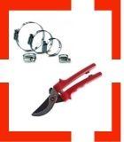 Nožnice, nože, hadice a spony
